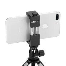 Ulanzi Adaptador de montaje de trípode para teléfono, montaje de trípode Vertical de ST 01 para iPhone 12 Pro Max, Samsung, Huawei y Xiaomi