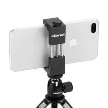 Ulanzi ST 01 Vertical Shooting Phone Tripod Mount Stand Adapter Vlog Tripod Mount for iPhone 12 Pro Max Samsung Huawei Xiaomi