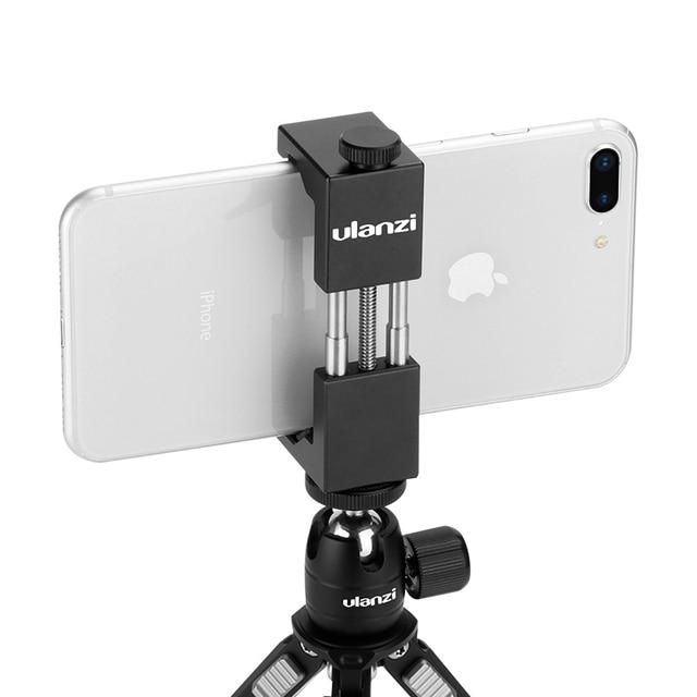 Ulanzi ST 01 dikey çekim telefon Tripod montaj standı adaptörü Vlog için Tripod dağı iPhone 12 Pro Max Samsung Huawei Xiaomi