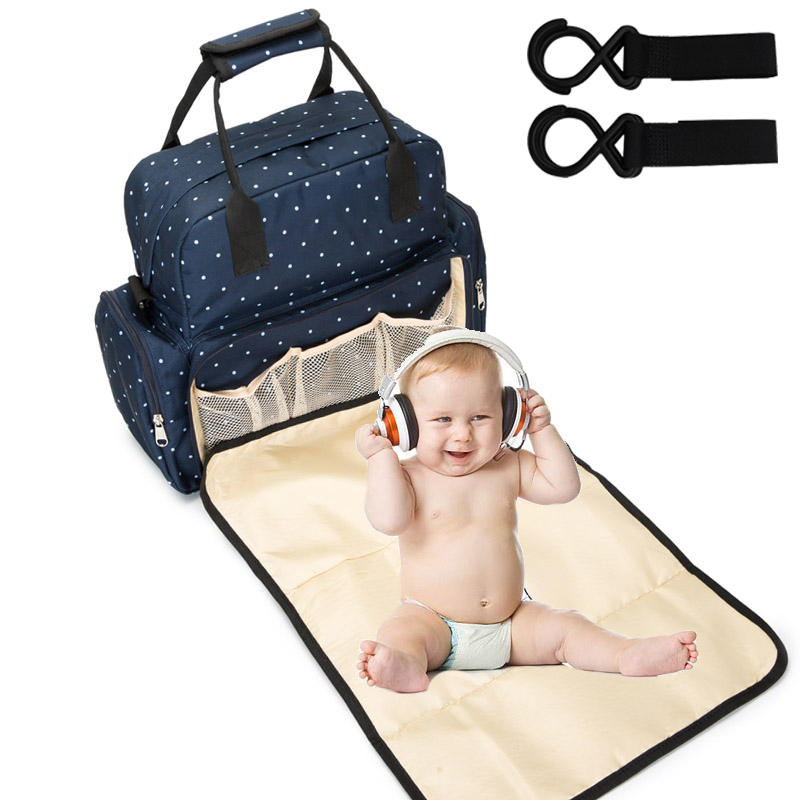 NEW Baby Diaper Bag Backpack Bags For Mummy Stroller Organizer Mother Maternity Baby Bags For Mom Mommy Maternal Nappy Bag Pouch