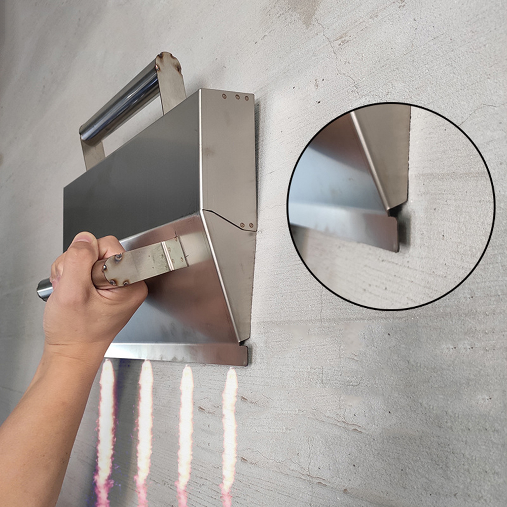 Hot Concrete Trowel Stainless Steel Wall Plastering Tools For Bricklayer Decor Trowel Construction Tools Herramienta Cemento image