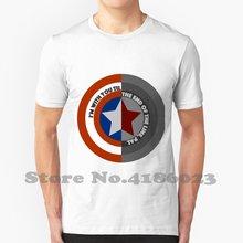 Fim Da Linha Escudo Projeto Fresco Na Moda T-Shirt Tee Steve Rogers Bucky Barnes James Buchanan Barnes Stucky Steven Grant