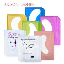 50/100pairs/pack Paper Patches Eyelash Under Eye Pads Lash Eyelash Extension Paper Patches Eye Tips Sticker Wraps Make Up Tools newcome 100pairs lot eyelash extension eye pad patches eyelash extension under eye pads paper patches lint free stickers make up