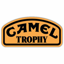 Funny Camel Trophy Personalized Car Stickers Waterproof Scratch Occlusion Decals Motorcycle Auto Accessories KK,13*6cm