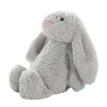 Плюшевая игрушка набивная мягкая игрушка кролик кукла Детские спальные компаньон милые плюшевые тапочки в виде кролика с длинными ушами ку...