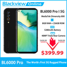 Blackview BL6000 Pro 5G Smartphone 8GB RAM+256GB ROM 6.36