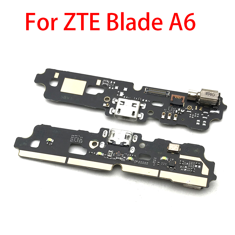 USB Charge Port Jack Dock Connector Charging Board Flex Cable For ZTE Blade A6 A6 Max