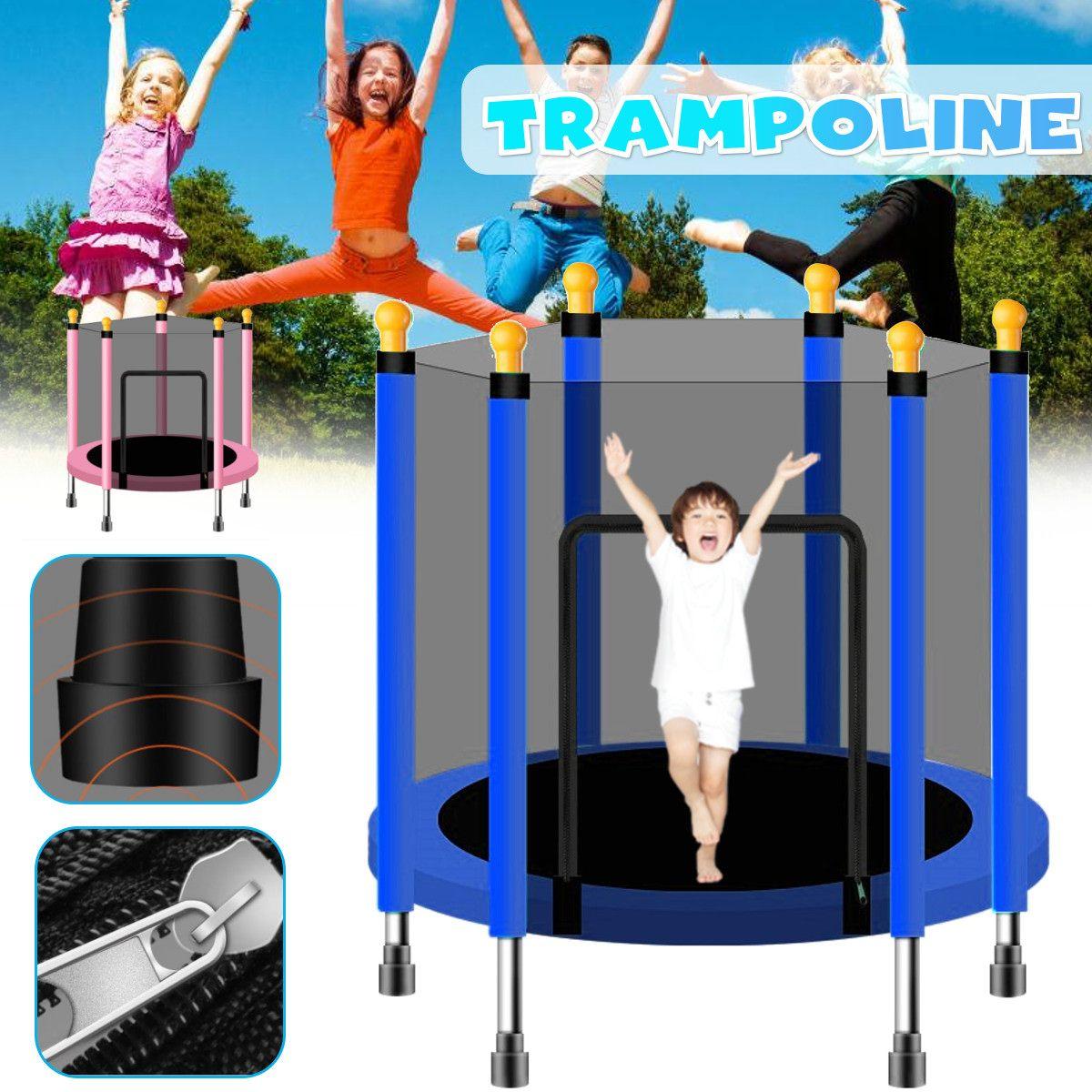 20cm/20 zoll Baby Kinder Home Indoor Trampolin Springen Kind Fitness Übung  Mit Schutz Net Bett Im Freien Bett