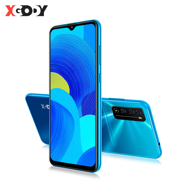 "XGODY 4G Mobile Phones Android 10 Celular 6.6"" 19:9 Waterdrop Screen 2GB 16GB MTK6737 Quad Core 3000mAh WiFi Dual SIM Smartphone 1"