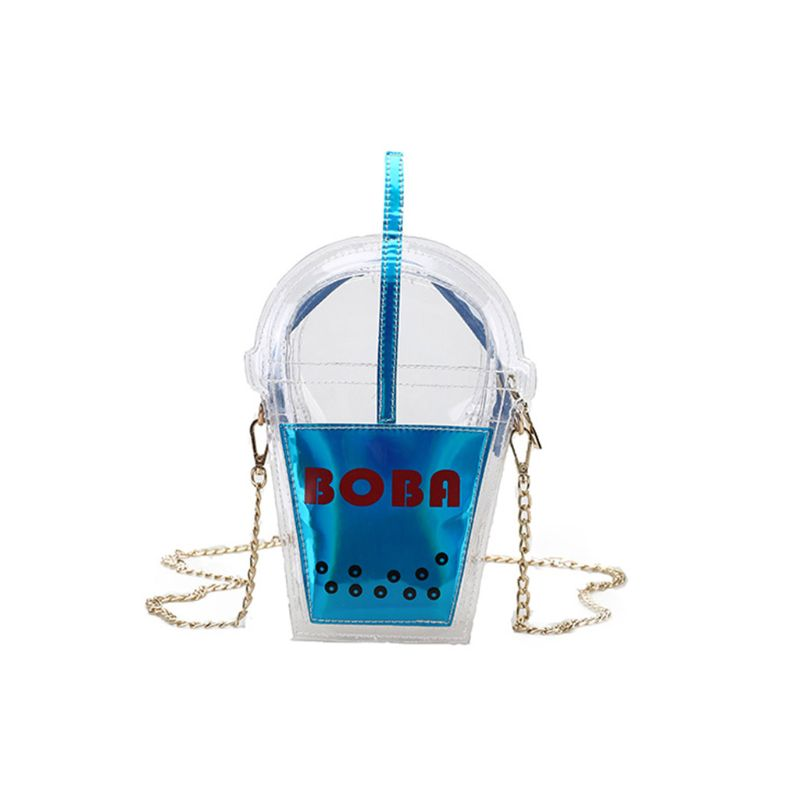 Забавная сумочка в форме чашки из искусственной кожи вечерняя