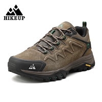 HIKEUP кожаные горные кроссовки для скалолазов 1