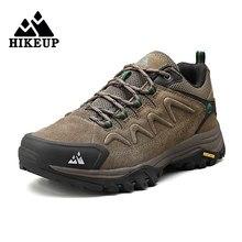 HIKEUP – chaussures d'été en cuir pour hommes, baskets de randonnée, de tourisme, d'escalade, de Trail, de Jogging, d'extérieur