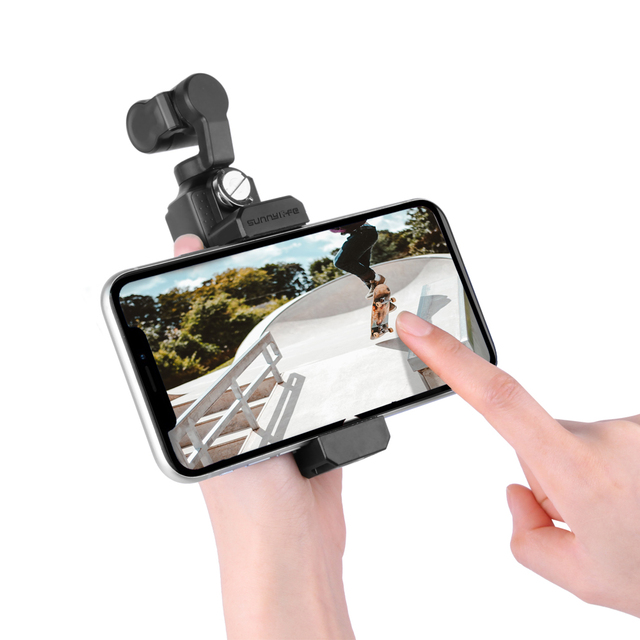For fimi palm camera phone mount clip handheld gimbal stabilizer phone connector adapter for fimi palm accessories