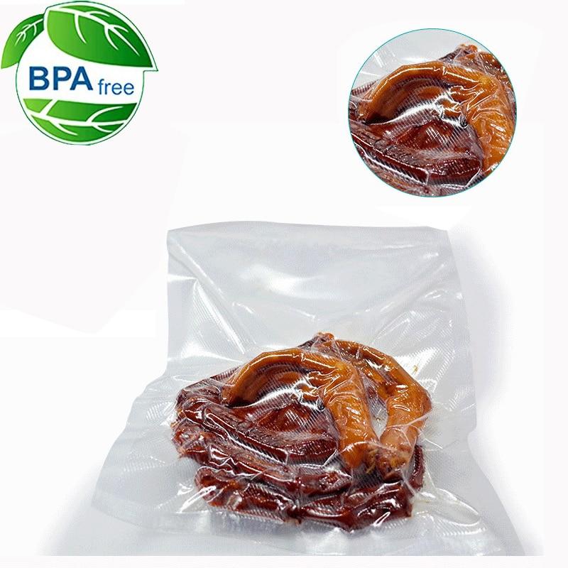 5 Rolls / 1lot 12+15+20+25+28*500 cm Vacuum Sealer Bags Food Storage Bags for Vacuum Sealer Fresh Food Packing Packer