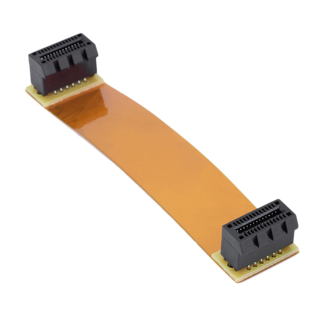 Flexible 8cm 80mm SLI Bridge PCI-E Cable Video Card Connector For ASUS Wholesale