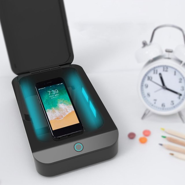 Mobile Phone UV Ultraviolet Disinfection Box Mobile Phone Sterilizer N95 Mask Sterilizer Small Ultraviolet Box 2