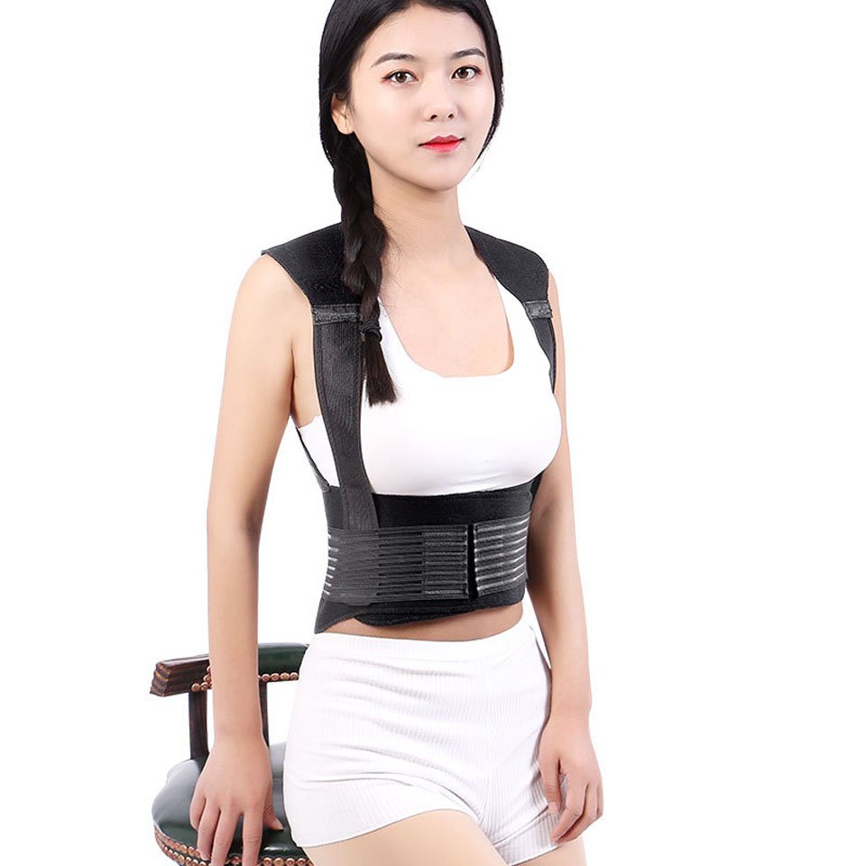Tourmaline Self-heating Brace Support Belt Back Posture Corrector Spine Back Shoulder Lumbar Posture Correction 2