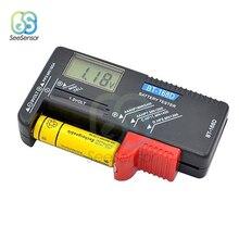 BT-168 Universal Multiple Size Battery Tester For AA/AAA/C/D/9V/1.5V LCD Display Digital Battery Capacity Tester Volt Checker