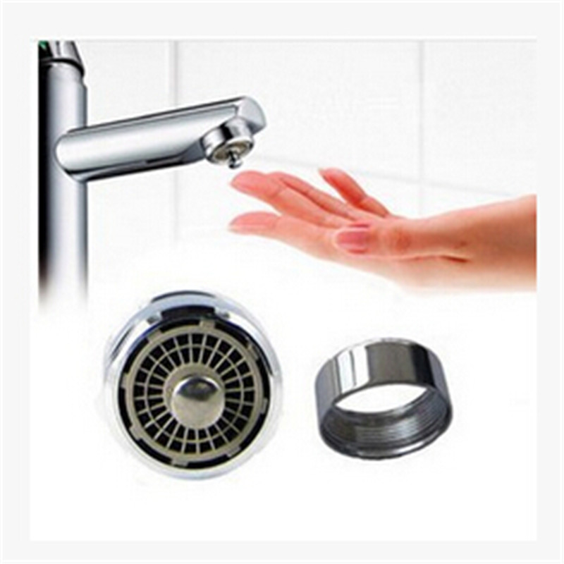 Newest Touch Control Faucet Aerator Water Valve Water Saving One Touch Tap Aerator Kitchen Bathroom Save Water Faucet Spouts