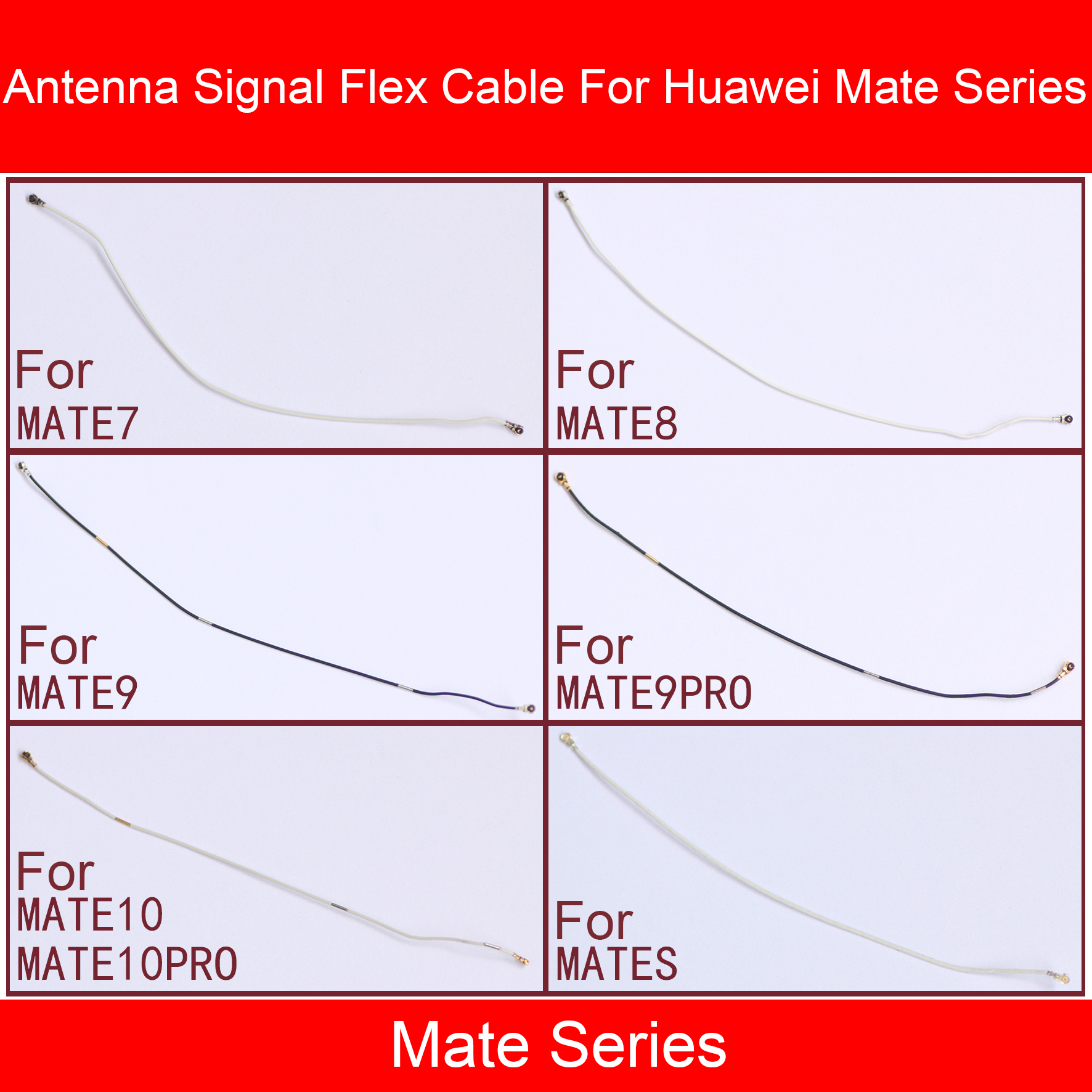 Antenna Signal Flex Cable For Huawei  Mate 20 10 9 8 7 S Pro Lite P Smart Plus 2018 2019 Wifi Signal Wire Line Flex Ribbon Parts
