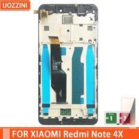 AAA calidad LCD para Xiaomi Redmi nota 4X pantalla LCD de pantalla para Redmi Note 4 mundiales LCD versión sólo para Snapdragon 625 marco