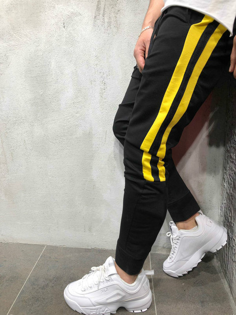 Tether Rope Color Matching Feet Trousers 2