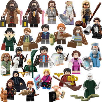 2020 New Classic 25pcs Potter Figures Series Harried Movie Figure children's educational building block toys for children image