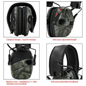 Image 3 - Electronic Ear muff Tactical Headset Anti noise Sound Amplification Shooting Hunting Hearing protection Protective Earmuffs