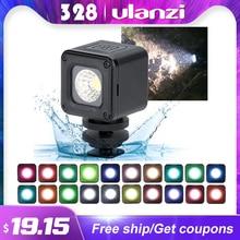 Ulanzi L1 L1 Pro Impermeabile Dimmable HA CONDOTTO LA Luce Video per Canon Nikon DSLR Avventura di Illuminazione per DJI Osmo Tasca Action gopro