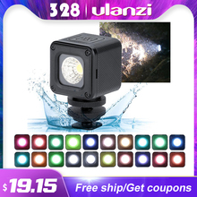 Ulanzi L1 L1 Pro Waterproof Dimmable LED Video Light for Canon Nikon DSLR Adventure Lighting for DJI Osmo Pocket Action Gopro