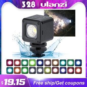 Image 1 - Ulanzi L1 L1 Pro su geçirmez dim LED Video işığı Canon Nikon DSLR için macera aydınlatma DJI Osmo cep eylem gopro