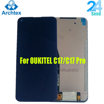 For Original OUKITEL C17 /C7 Pro LCD Display +Touch Screen Digitizer Assembly Replacement Parts 6.35 inch Android 9.0 19:9