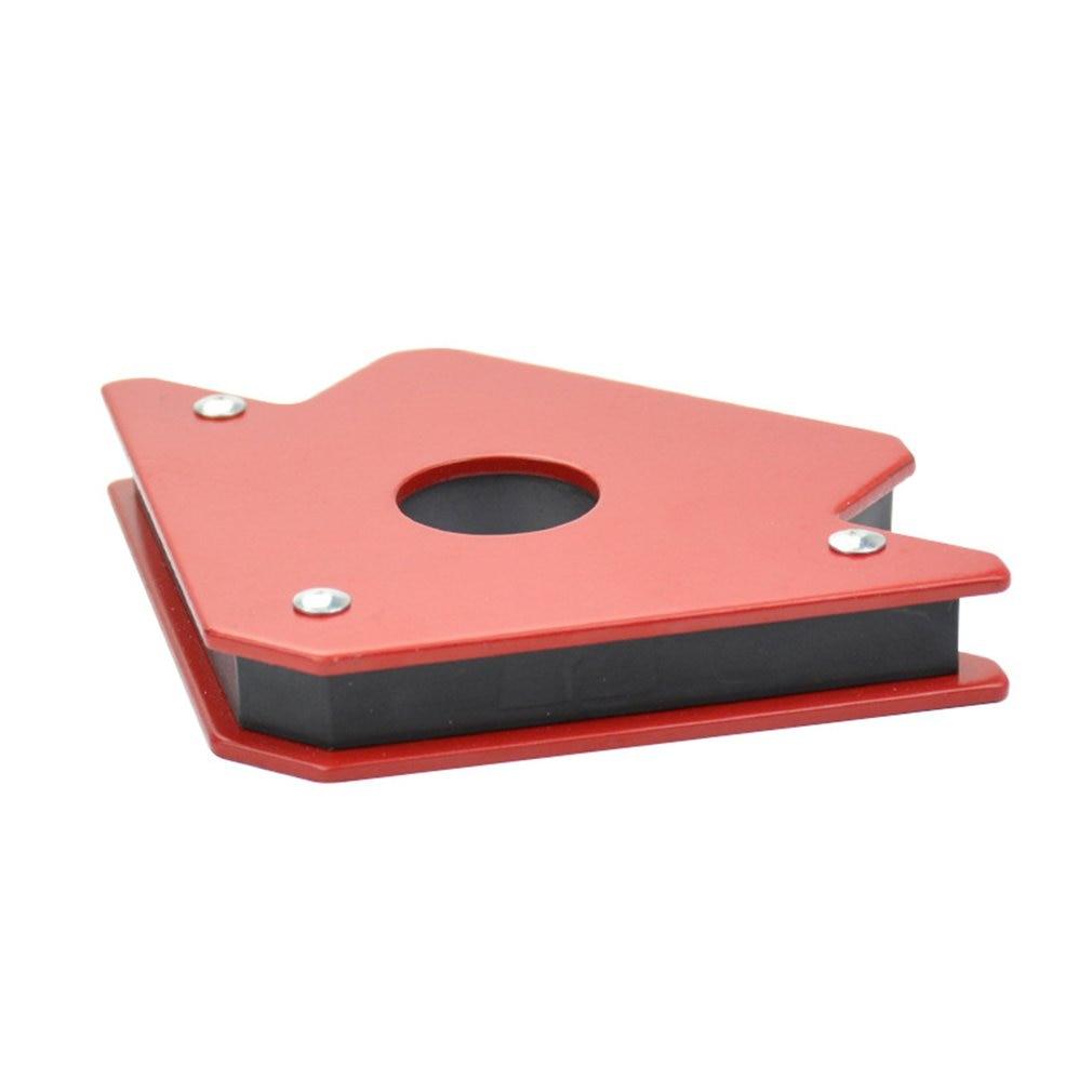 25LB пайка локатор сильный магнит сварочный магнитный держатель 3 угла стрелка сварщик позиционер электроинструмент аксессуары
