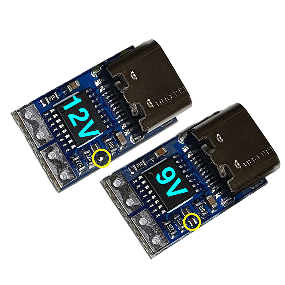 Electrical Trigger ZYPDS Panels DC 12V Boards Power Supply For Xiaomi 65W With PD To DC Line Output Shrinkable Tube