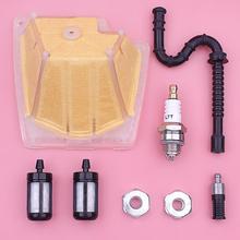 Luft Kraftstoff Öl Filter Linie Kit Für Stihl MS270 MS270C MS280 MS280C Kettensäge Teil 1133 120 1604 w Zündkerze bar Mutter