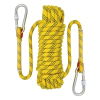 20M Outdoor Climbing Rope Diameter 12mm Outdoor Hiking Accessories High Strength Rope Safety Rope Lifeline Hiking Accessories Ye|Climbing Accessories| |  -