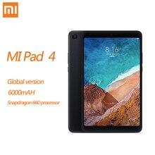 Xiaomi MI Pad 4 8,0 4 Гб + 64 Гб 98 Новый дюймов Android Snapdragon 660 Core 8, планшет, WIFI, LTE HD Дисплей 6000 мАч MIUI 9,0 ПК