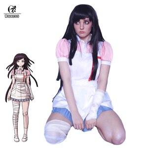 Image 1 - ROLECOS Super Danganronpa 2 Mikan Tsumikiคอสเพลย์เครื่องแต่งกายMikanพยาบาลชุดผู้หญิงเซ็กซี่Dangan Ronpaชุดคอสเพลย์