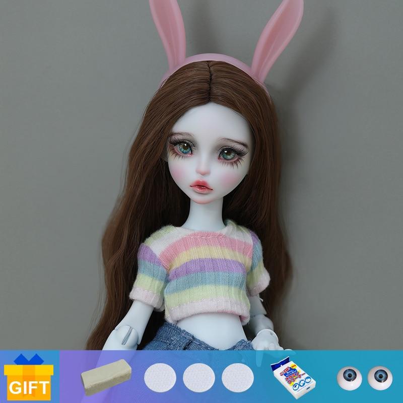 Shuga Fee Yomi Lana 1/6 BJD Puppe Anime Figur Harz Spielzeug für Kinder Überraschung Geschenk für Mädchen Geburtstag Lillycat Chibi lana