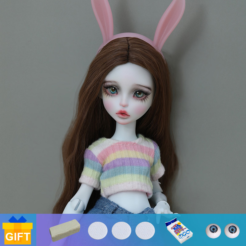 Shuga fada yomi lana 1/6 bjd boneca anime figura resina brinquedos para crianças presente surpresa para meninas aniversário lillycat chibi lana