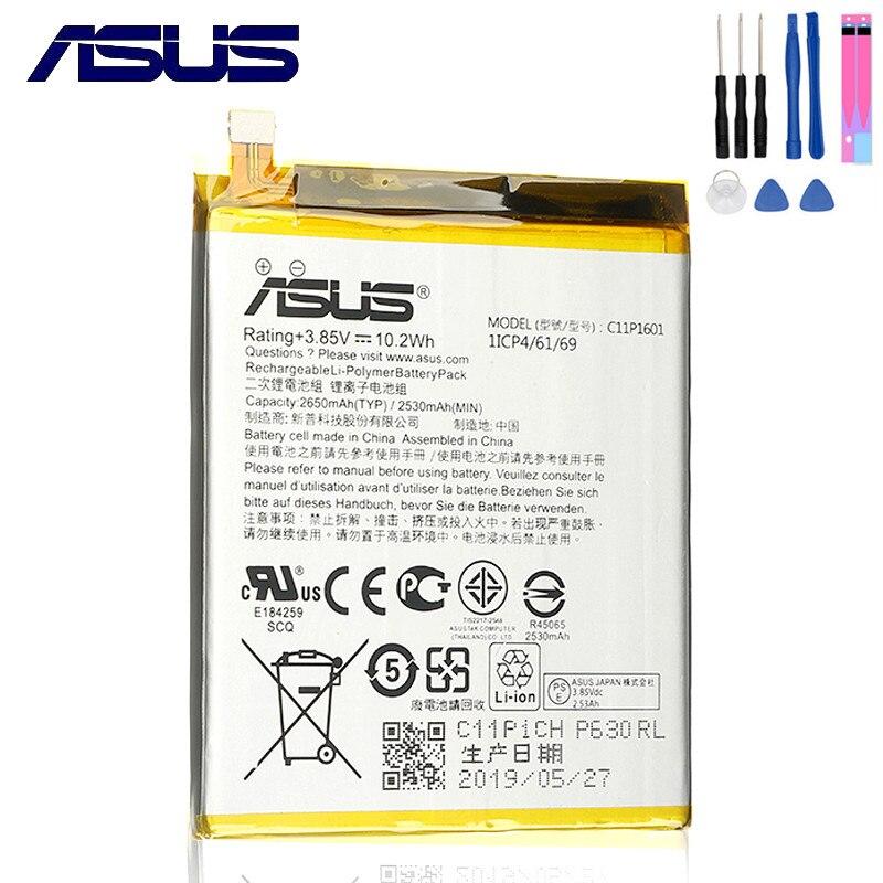 ASUS 100% Original 2650mAh C11P1601 Battery For ASUS ZENFONE 3 ZENFONE3 ZE520KL Z017DA ZenFone live ZB501KL A007 Mobile Phone|Mobile Phone Batteries|   - AliExpress