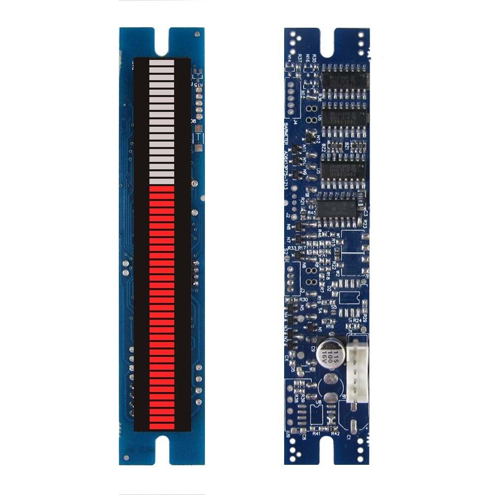 Красочный светодиодный анализатор музыкального спектра, 51 сегмент, светодиодный светильник, колонка, modu светодиодный igital-сигнал