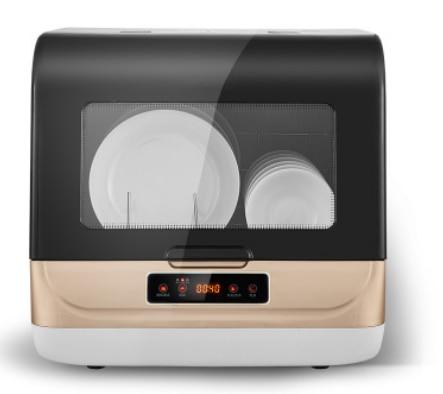 Dishwasher Full-automatic Domestic Desktop Small Disinfection Cabinet Mini Intelligent Embedded Dishes Mini Washing Machine