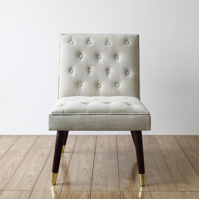 Luxury European Style Vintage Accent Chair  2