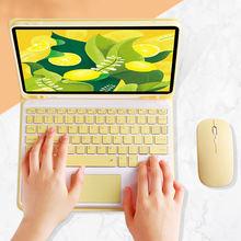 Беспроводной bluetooth чехол для клавиатуры с держателем карандашей