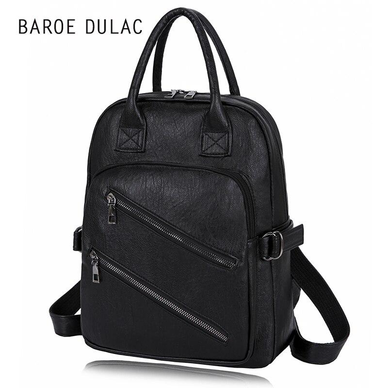 Retro Unisex font b Bag b font Backpack Women font b Bag b font font b