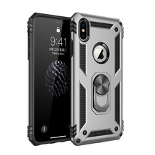 Shockproof magnetic Ring holder stand case For Apple iphone XS MAX case X XR 7 8 plus 6 6s plus cover coque 11 pro max case цена и фото