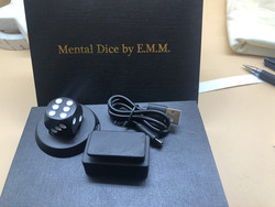Mental Dice/Cube By E.M.M Magic Tricks Wireless Charging,Soul Prediction,Stage Close Up Magic Magician Illusions Gimmick Fun