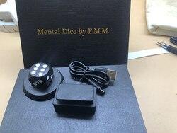 Mental dés/Cube par E.M.M tours de magie charge sans fil, prédiction de l'âme, scène gros plan magicien magique Illusions Gimmick Fun