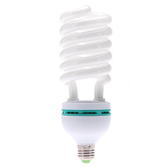 E27 220V 150W 5500K צילום סטודיו הנורה וידאו אור מנורת אור יום לבן